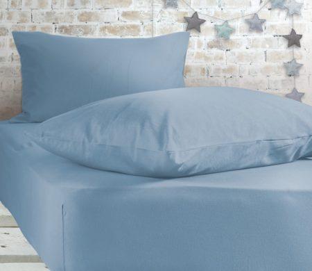 Σεντόνι μονό με λάστιχο 100x200+30 Sky Jersey Collection - Nef-Nef