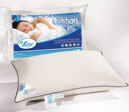 Μαξιλάρι ύπνου 50x70 cm All Cotton Organic Pillow Natural Collection - La Luna