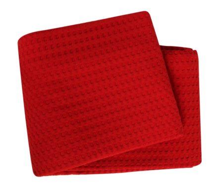 Κουβέρτα μονή πικέ Red Golf Collection - NEF-NEF