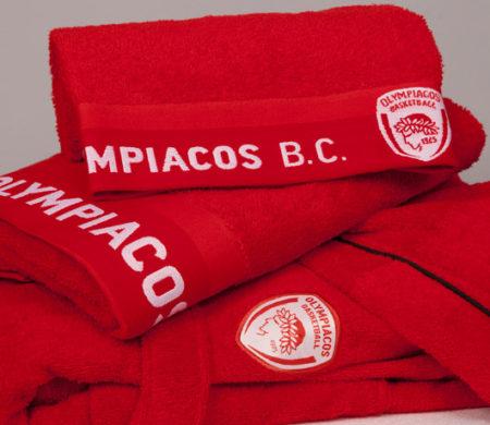 Πετσέτα Μπάνιου ΟΛΥΜΠΙΑΚΟΣ BC 1925 Team Bath Collection - Palamaiki