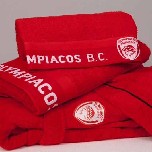 Πετσέτα Μπάνιου ΟΛΥΜΠΙΑΚΟΣ BC 1925 Team Bath Collection - Palamaiki η ομάδα μου   ολυμπιακός b c