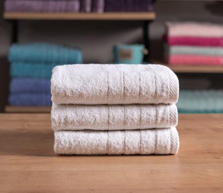 Πετσέτα προσώπου Λευκή ξενοδοχείου (50x100) 500 γρ/μ² Πεννιέ Cozy