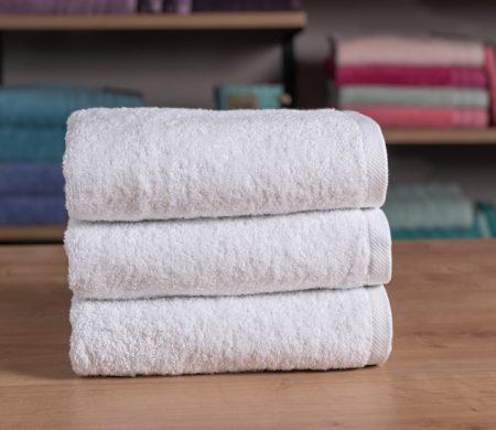 Πετσέτα προσώπου ξενοδοχείου (50x100) 550 γρ/μ² Πεννιέ Plain