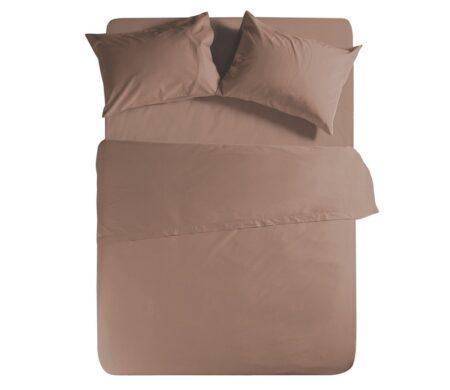 Σεντόνι μονό 170*270 Brown Basic Collection - Nef-Nef
