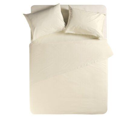 Σεντόνι μονό 170*270 Cream Basic Collection - Nef-Nef