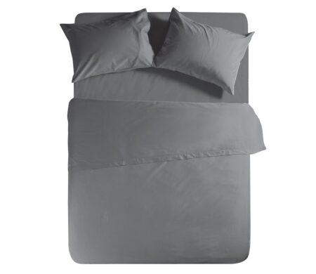 Σεντόνι μονό 170*270 D.Grey Basic Collection - Nef-Nef