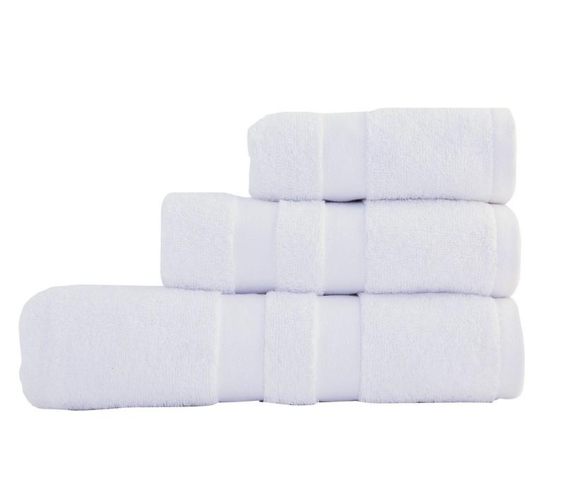 Πετσέτα προσώπου Status white Bath Collection – Nef-Nef