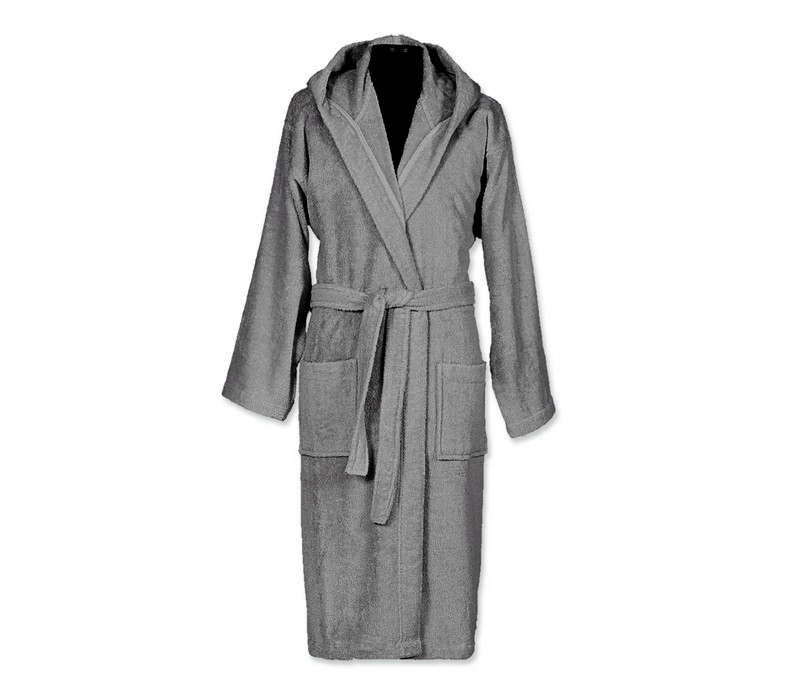 Μπουρνούζι Comfort Grey Large Bath Collection – Nef-Nef