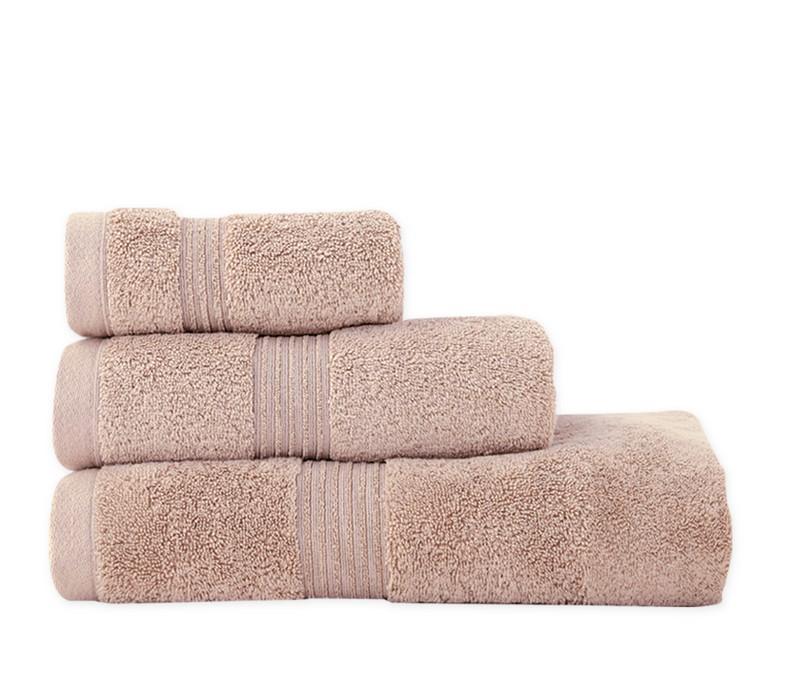 Πετσέτα προσώπου Aegean beige Bath Collection – Nef-Nef