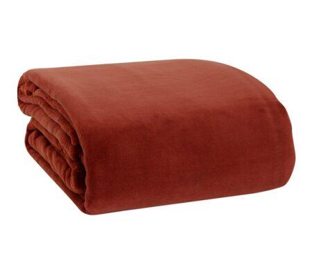 Κουβέρτα υπέρδιπλη Fleece Planet Paprica Collection - NEF-NEF