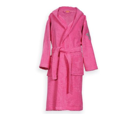 Μπουρνούζι Nº 04 Hot Pink Junior Kids Collection - Nef-Nef