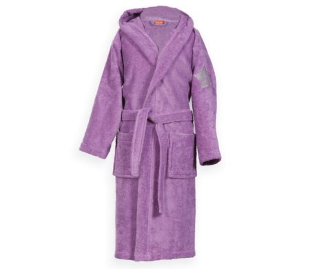 Μπουρνούζι Nº 04 Purple Junior Kids Collection - Nef-Nef