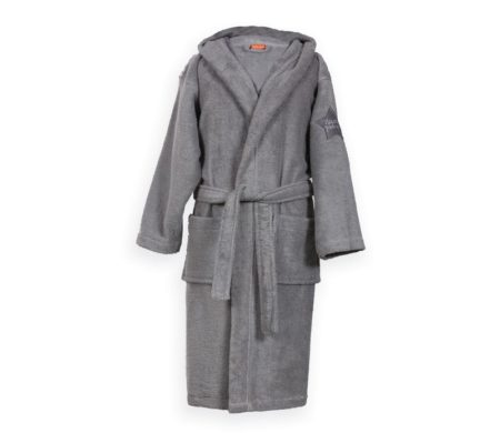 Μπουρνούζι Nº 04 L.Grey Junior Kids Collection - Nef-Nef