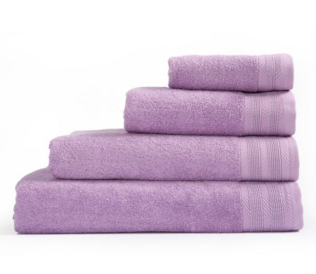 Πετσέτα προσώπου 50x90 Life Purple Bath Collection - Nef-Nef