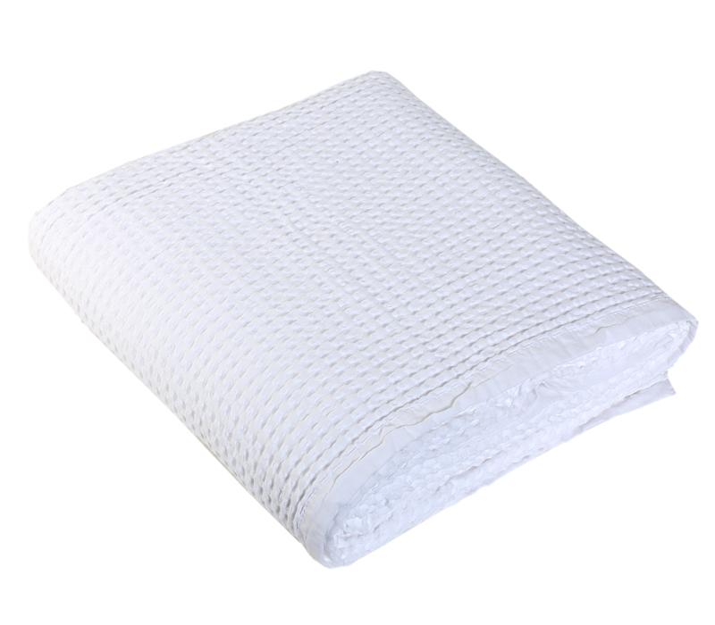 Κουβέρτα μονή 160x240 πικέ New Golf White Bedcover Collection - Nef-Nef
