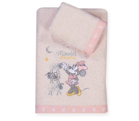 Σετ πετσέτες Minnie's Dreams Baby Collection - Nef-Nef
