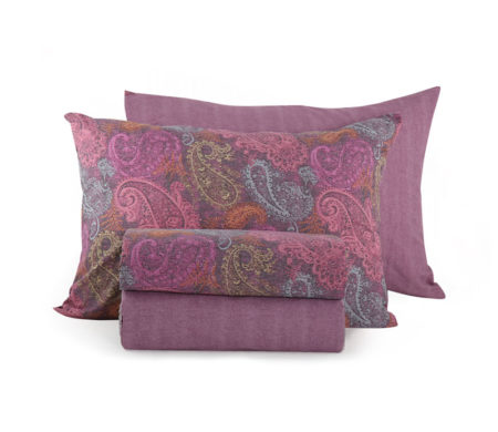 Σεντόνια μονά 170x260 σετ 3τμχ Ledicia Purple Smart Line Collection - Nef-Nef