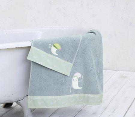 Πετσέτες παιδικές σετ 2(τμχ) Boo Baby Collection - Nima