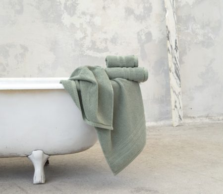 Πετσέτα σώματος 70*140 Canali mint Bath Collection - Nima