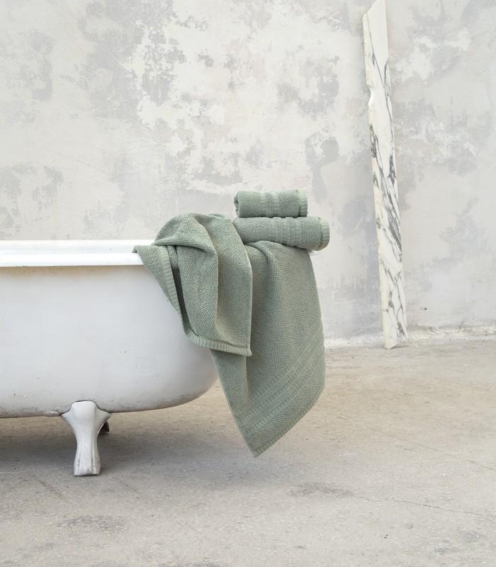 Πετσέτα σώματος 70*140 Canali mint Bath Collection - Nima