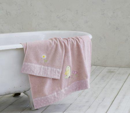 Πετσέτες παιδικές σετ 2(τμχ) Cuckoo Baby Collection - Nima