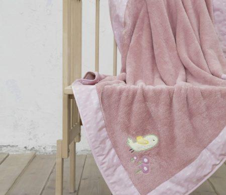 Κουβέρτα λίκνου 80*110 Cuckoo Baby Collection - Nima