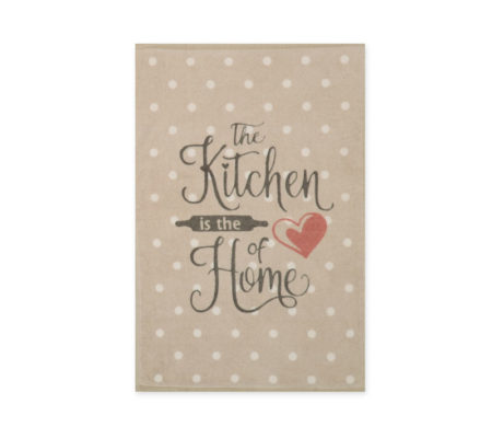 Πετσέτα κουζίνας βελουτέ 40x60 Heart Of Home Beige Kitchen Collection - Nef-Nef