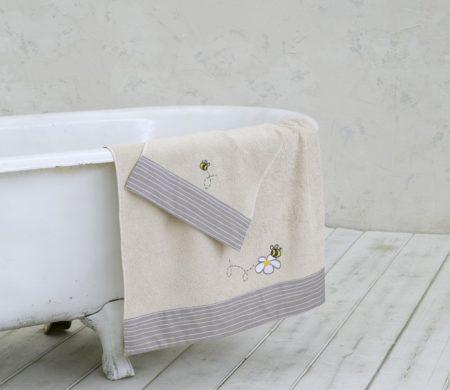 Πετσέτες παιδικές σετ 2(τμχ) Meya Baby Collection - Nima