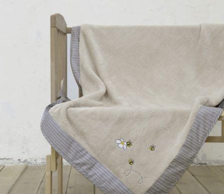 Κουβέρτα λίκνου 80*110 Meya Baby Collection - Nima