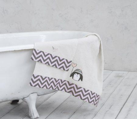 Πετσέτες παιδικές σετ 2(τμχ) Pingui Baby Collection - Nima
