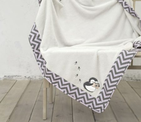 Κουβέρτα κούνιας 110*140 Pingui Baby Collection - Nima