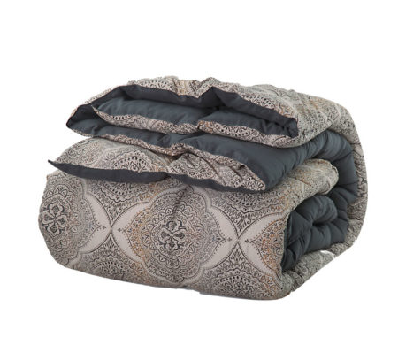 Πάπλωμα μονό 160x220 Ava Grey Duvets Collection - Nef-Nef