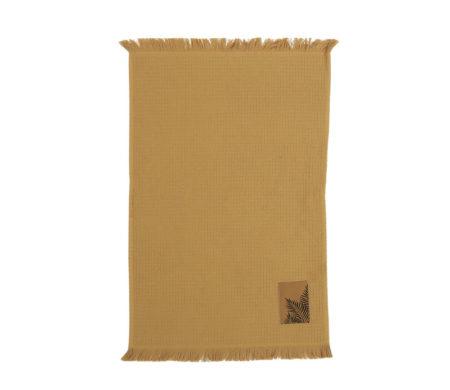 Ποτηρόπανο 40x60 φροτέ/πικέ Herb Mustard Kitchen Collection - Nef-Nef