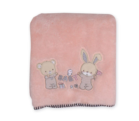 Κουβέρτα κούνιας 110x150 fleece Play in my room Baby Collection - Nef-Nef