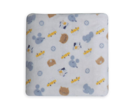 Κουβέρτα κούνιας 110x140 fleece Wonderful World Baby Collection - Nef-Nef