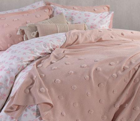 Κουβερλί υπέρδιπλο 230*240 Indila Eng.Rose Bedcovers Collection - Nef-Nef
