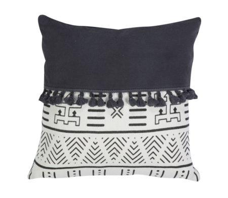 Μαξιλάρι διακοσμητικό 45x45 Bernice Black Living Room Collection - Nef-Nef