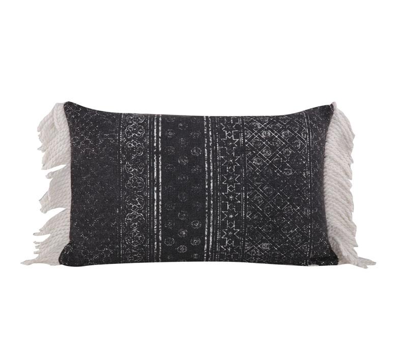 Μαξιλάρι διακοσμητικό 33x55 Lincoln Black Living Room Collection - Nef-Nef