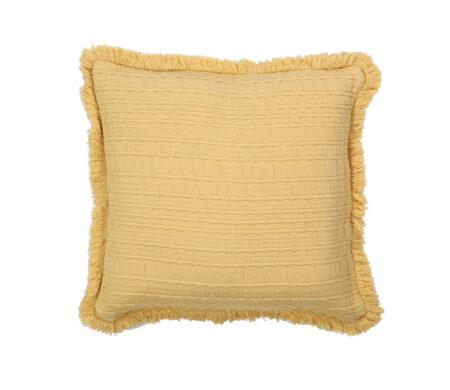 Μαξιλάρι Διακοσμητικό 50x50 Madison Mustard Bedcovers Collection - Nef-Nef