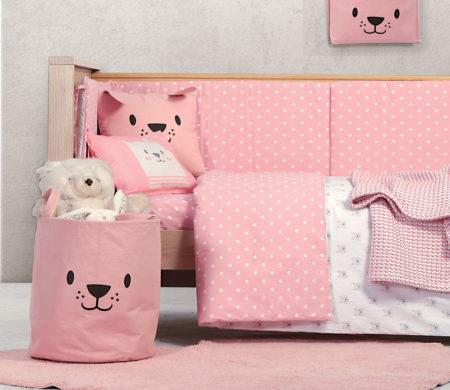 Κουβερλί κούνιας 110*140 Cat Baby Collection - Nef-Nef