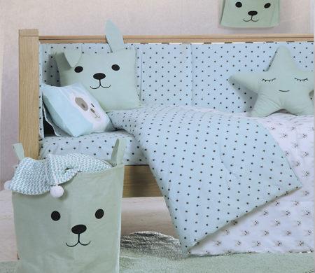 Κουβερλί κούνιας 110*140 Dog Baby Collection - Nef-Nef