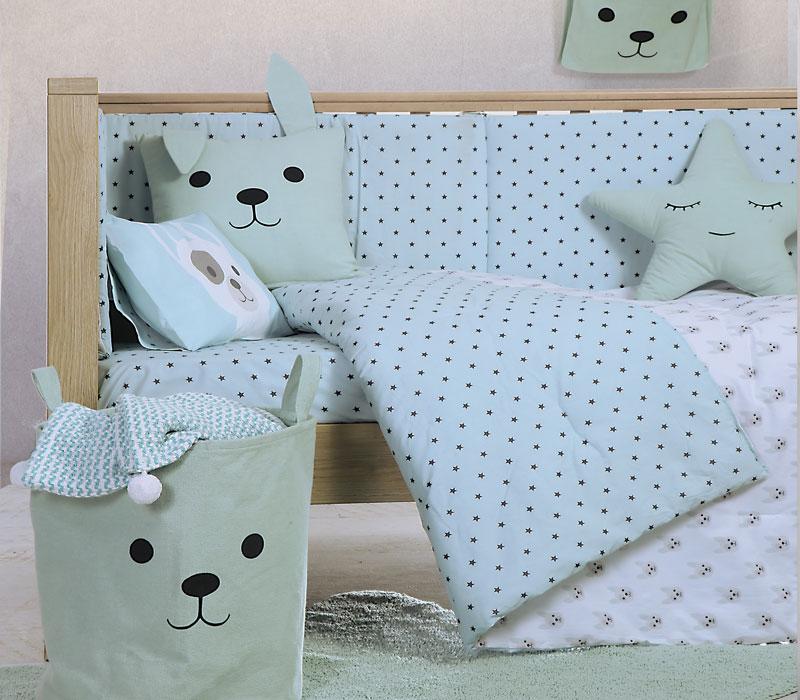Κουβερλί κούνιας 110*140 Dog Baby Collection – Nef-Nef