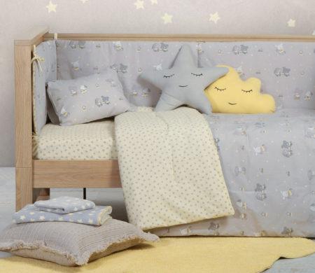 Κουβερλί κούνιας 110*140 Kindergarden Baby Collection - Nef-Nef