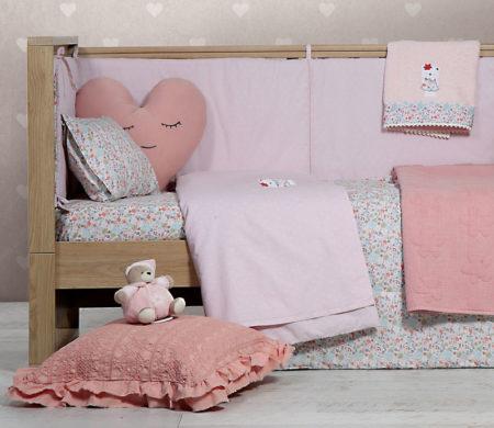 Κουβερλί κούνιας 110*140 Tropical blossom Baby Collection - Nef-Nef