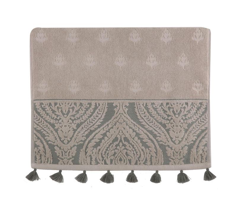 Πετσέτα προσώπου 50x90 Hildar beige Bathroom collection - Nef Nef