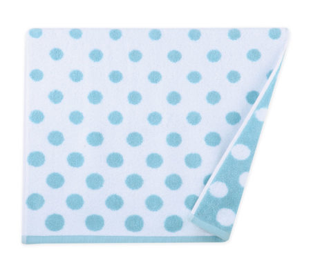 Πετσέτα σώματος 70x140 Dots blue Bathroom collection - Nef Nef