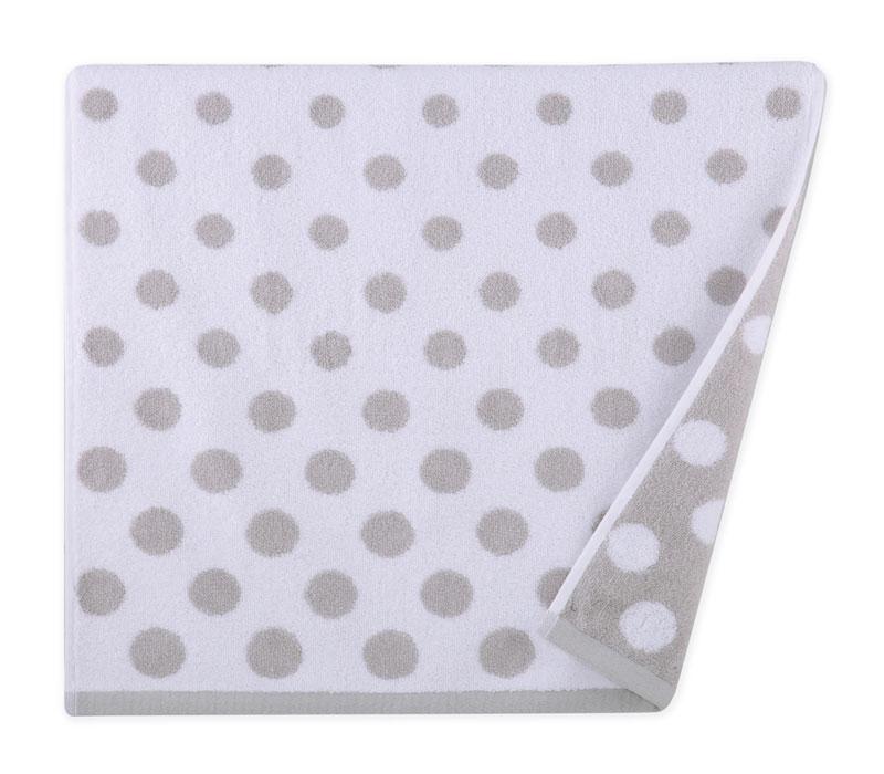 Πετσέτα σώματος 70x140 Dots grey Bathroom collection - Nef Nef