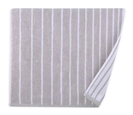 Πετσέτα προσώπου 50x90 Lines grey Bathroom collection - Nef Nef