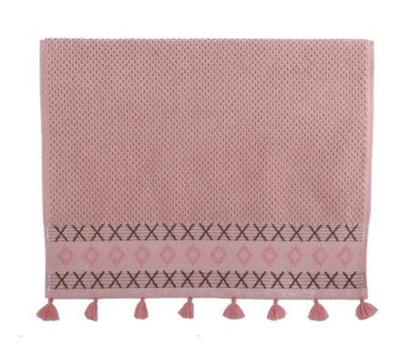 Πετσέτα χεριών 30x50 Perez pink Bathroom Collection - Nef-Nef
