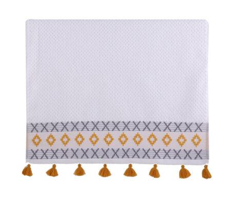 Πετσέτα χεριών 30x50 Perez white Bathroom Collection - Nef-Nef